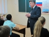Урок Конституции провел председатель парламента