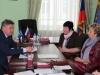 Прием председателя областной Думы