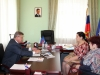 На приеме граждан – председатель областной Думы
