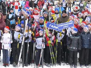 Депутаты встали на лыжи