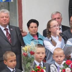 Депутаты беседовали со школьниками о мире и милосердии