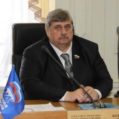 Поздравление члена Совета Федерации М.В.Козлова с Днем весны и труда