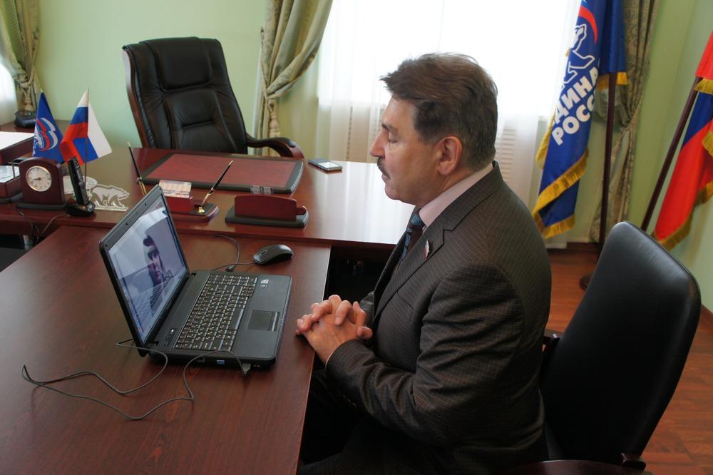 25 апреля заместитель председателя Костромской областной Думы провел личный прием граждан