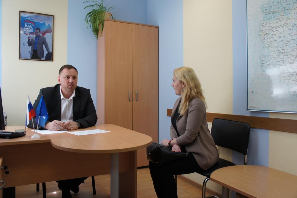 Депутат Костромской областной Думы провел личный прием граждан.