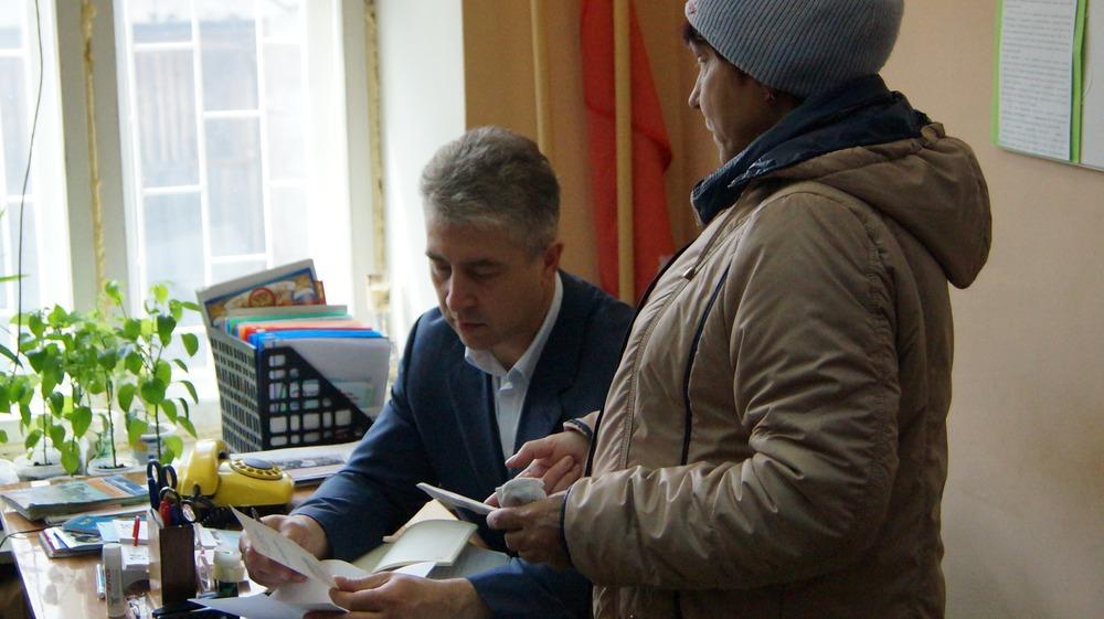 Депутат Костромской областной Думы провел прием граждан в Вохме