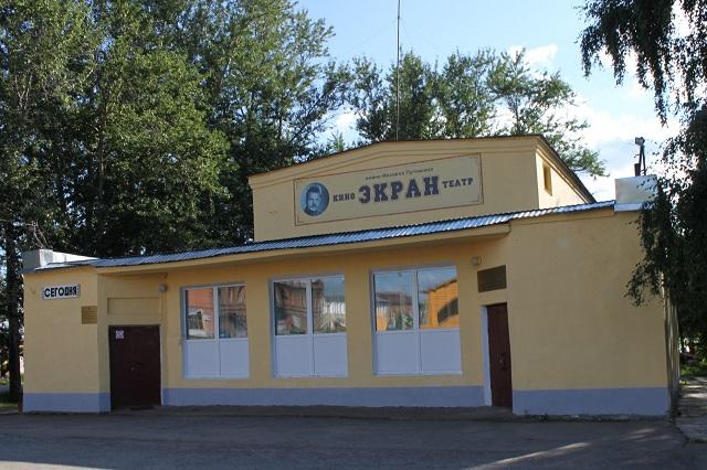 Новый кинозал в Чухломе