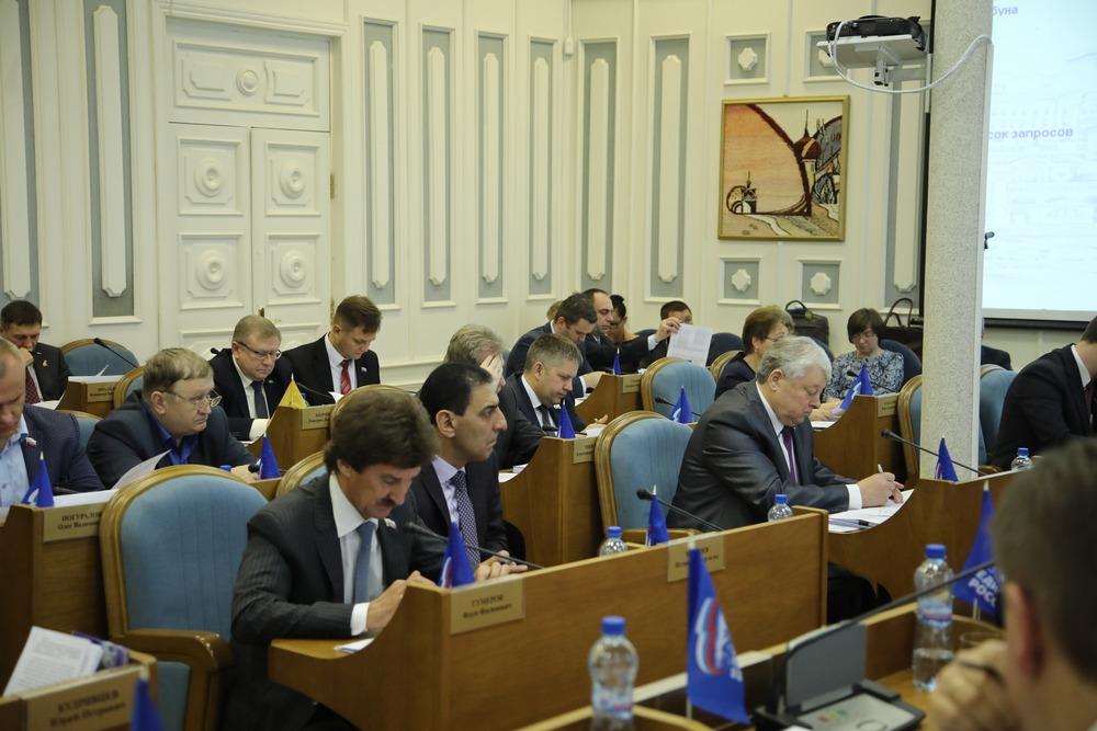 Тюменская областная дума приняла бюджет на будущий 2018-й год впервом чтении