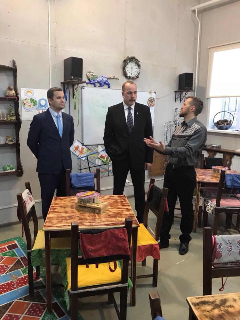 Федеральный законодатель посетил Нерехту
