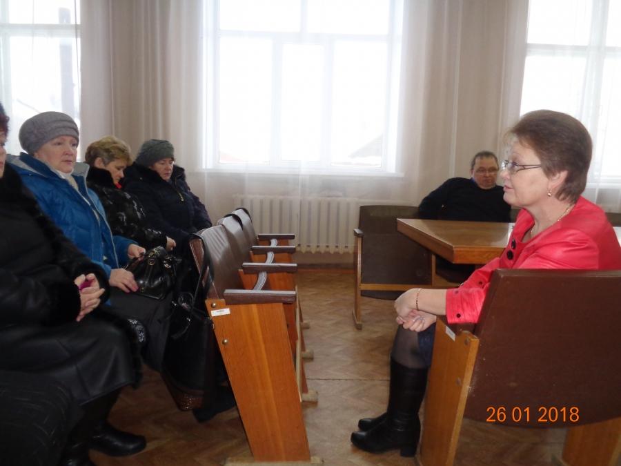 Встреча с жителями Первомайского