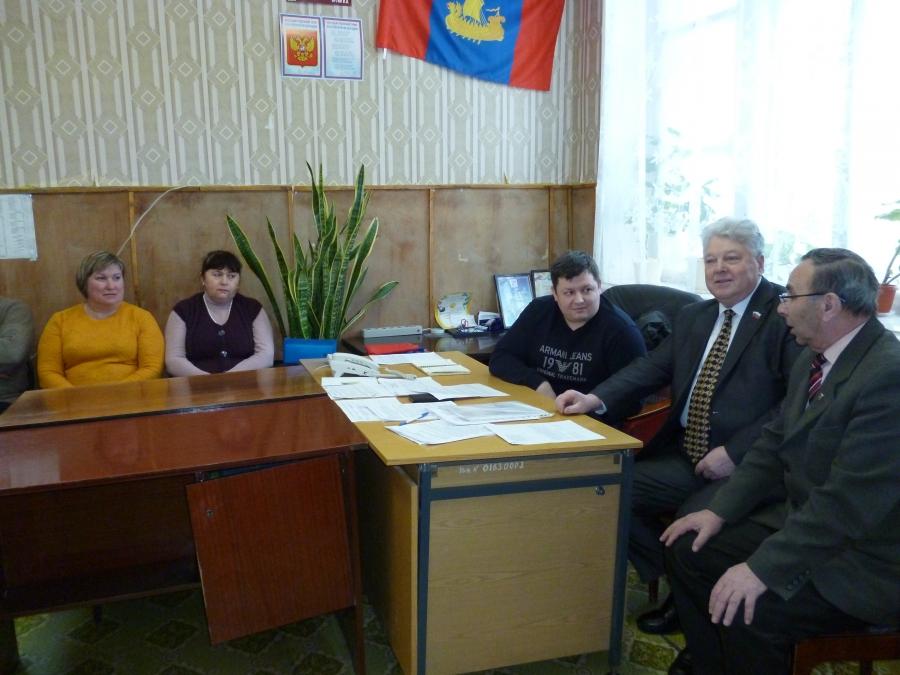 Рабочая поездка в Костромской район