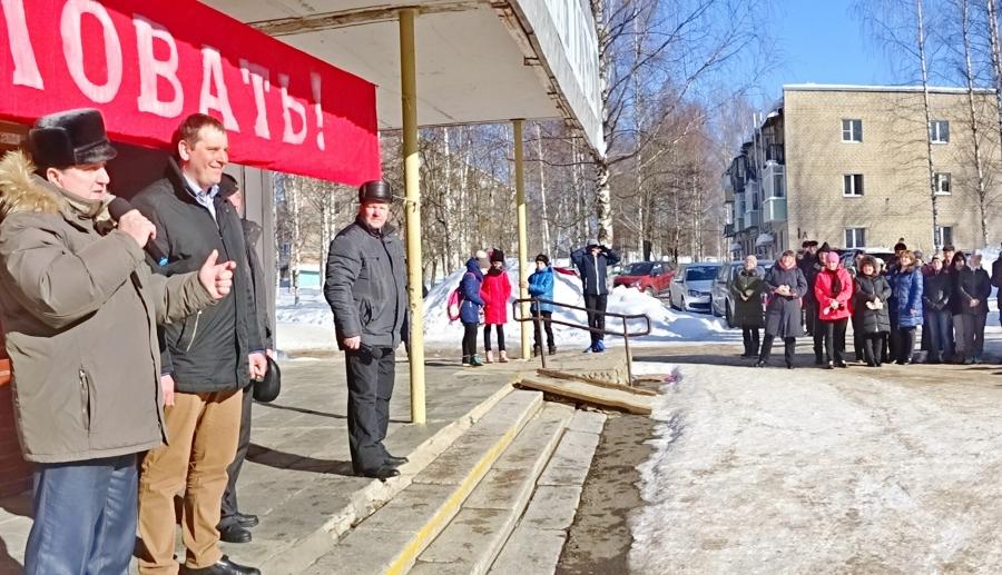 Рабочие визиты в Галич и Сусанинский район