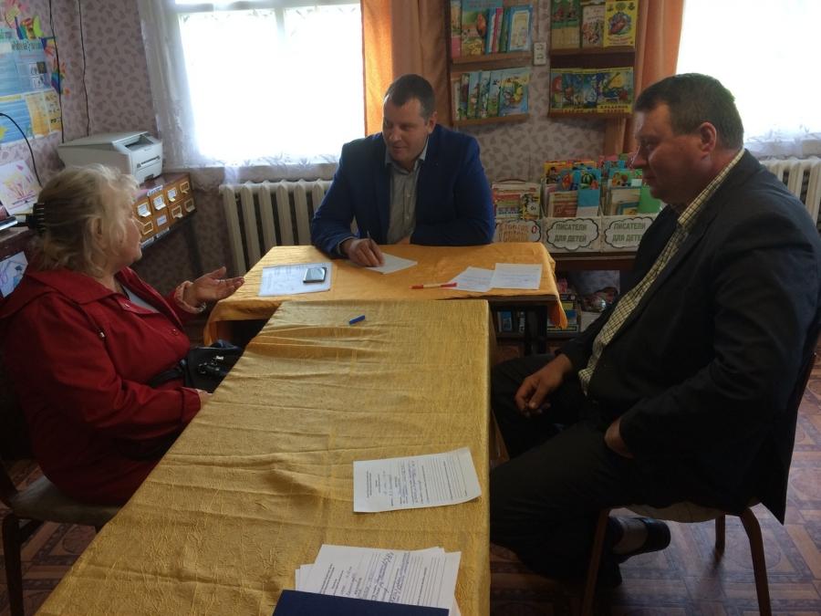 Прием граждан в Дмитриевском