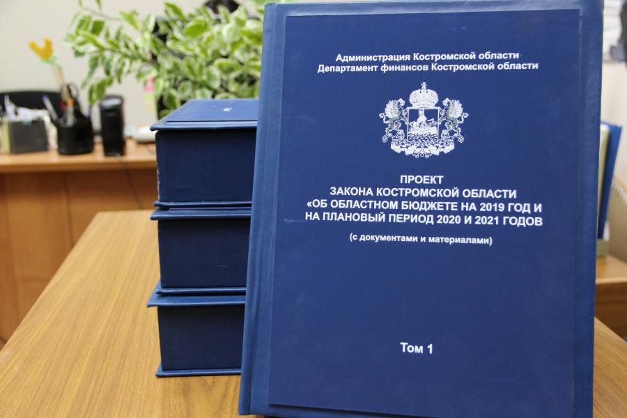 Бюджет 2019 внесен