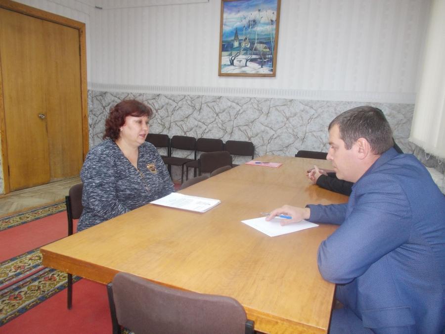 Депутатский прием в Сусанино
