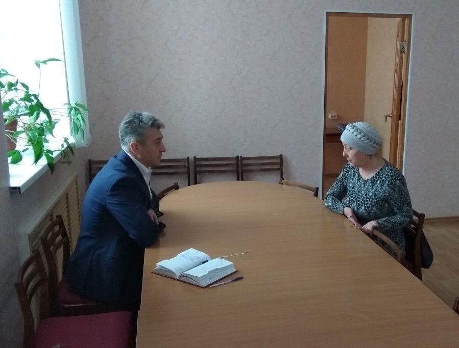 Депутатский прием в Поназыреве