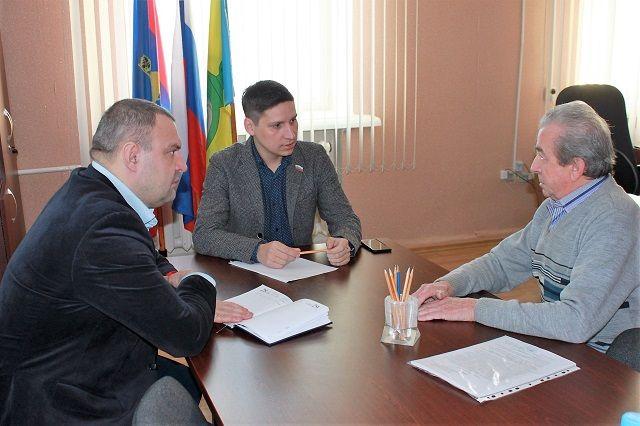 Депутатский прием в Антроповском и Парфеньевском районах