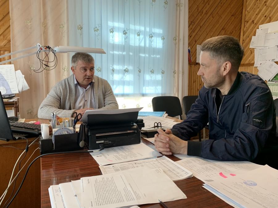 Рабочая поездка в Макарьевский район