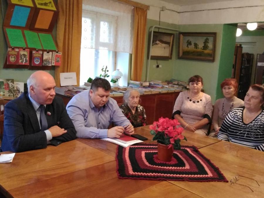 Круглый стол по проблемам пожилых людей