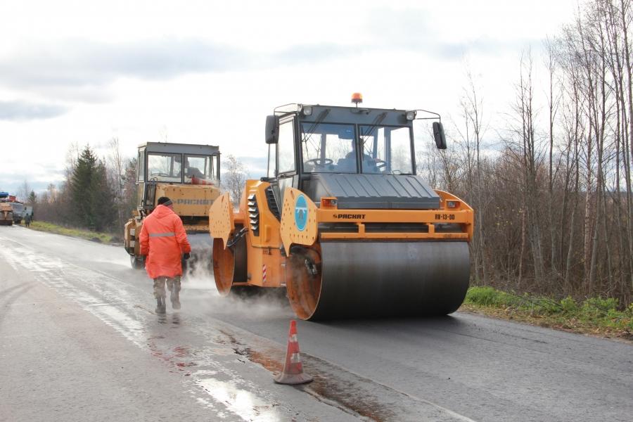 Дорожные ремонты в Мантуровском районе
