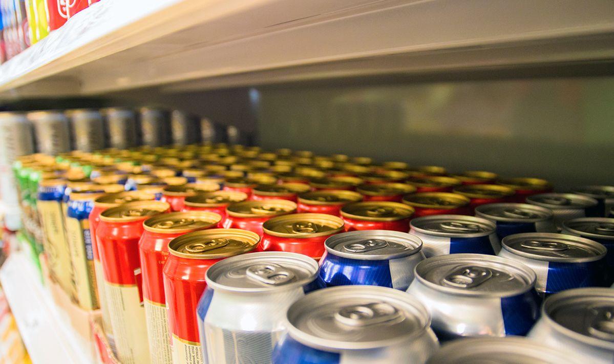 Запрет на продажу энергетических напитков