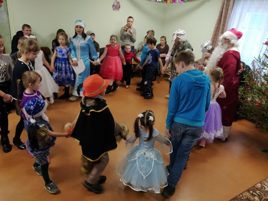 Новогодний праздник для детей