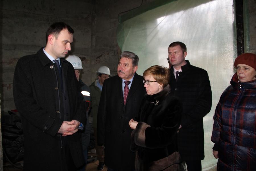 Строительство онкоцентра в Костроме