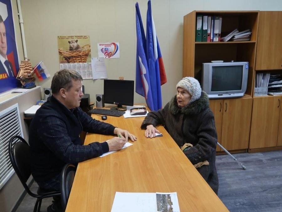 Прием граждан в Шарье