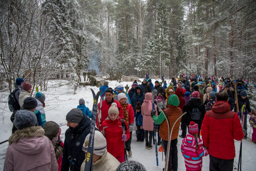 День защитника Отечества на лыжне