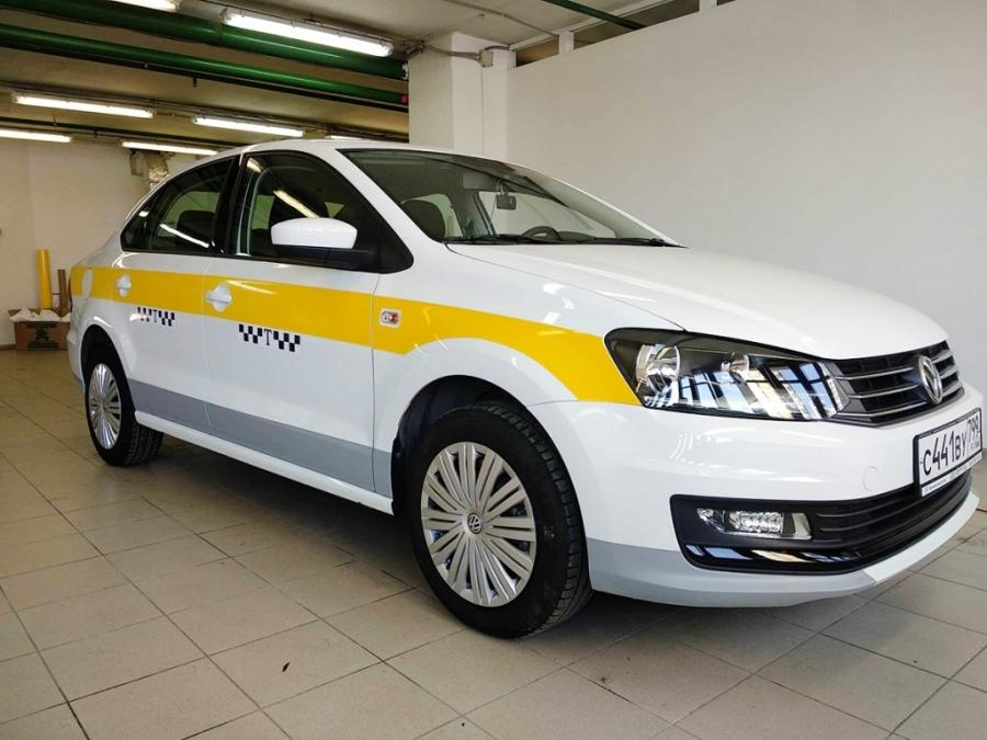 Такси в одном стиле
