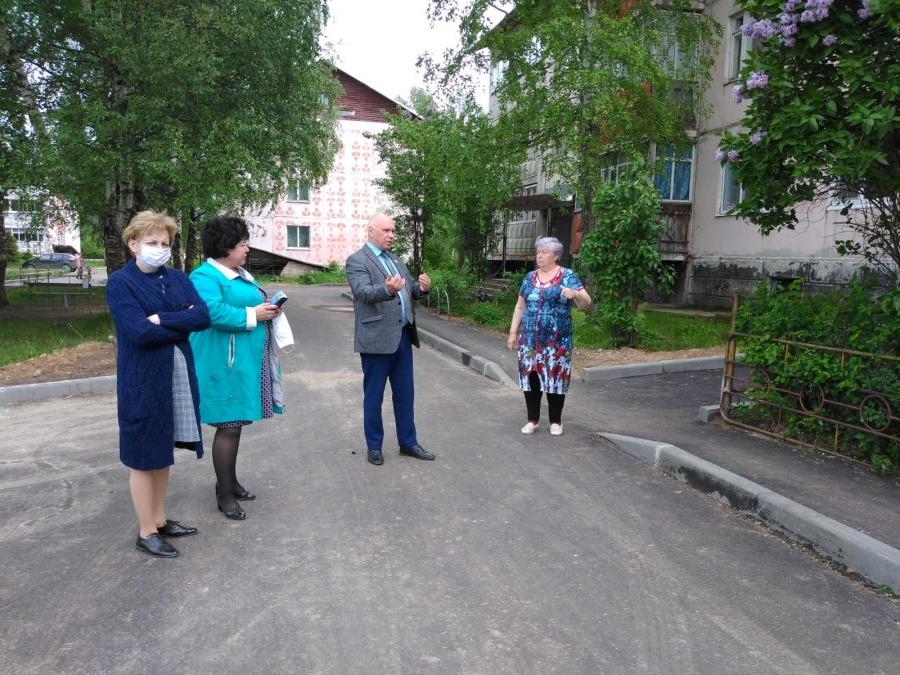 Рабочая поездка в Бакшеевское поселение
